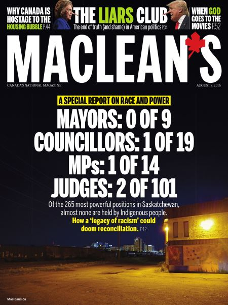 Issue: - AUGUST 8, 2016 | Maclean's