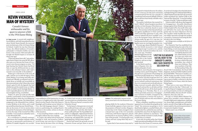 Article Preview: KEVIN VICKERS, MAN OF MYSTERY, AUGUST 8 2016 | Maclean's