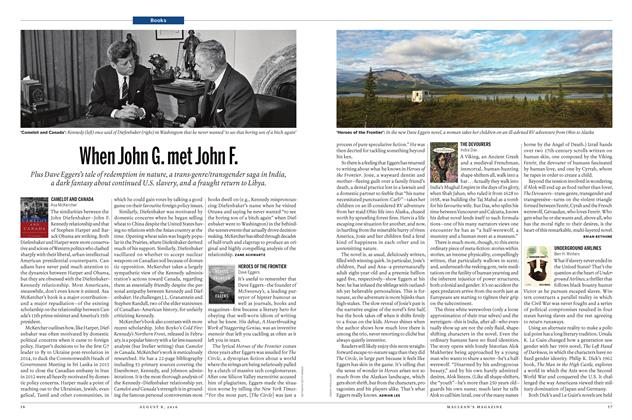 Article Preview: When John G. met John F., AUGUST 8 2016 | Maclean's