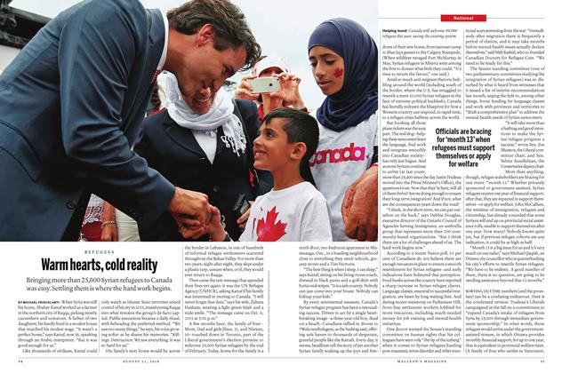 Article Preview: Warm hearts, cold reality, August  22 2016 | Maclean's