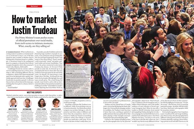 Article Preview: How to market Justin Trudeau, August  22 2016 | Maclean's