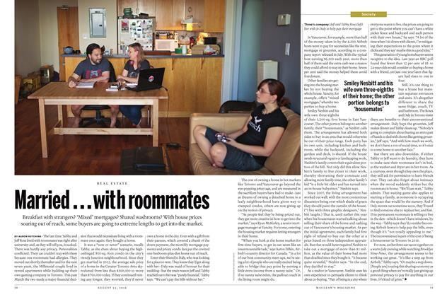 Article Preview: Married...with roommates, August  22 2016 | Maclean's