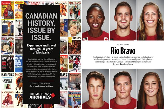 Article Preview: Rio Bravo, August  22, 2016 2016 | Maclean's