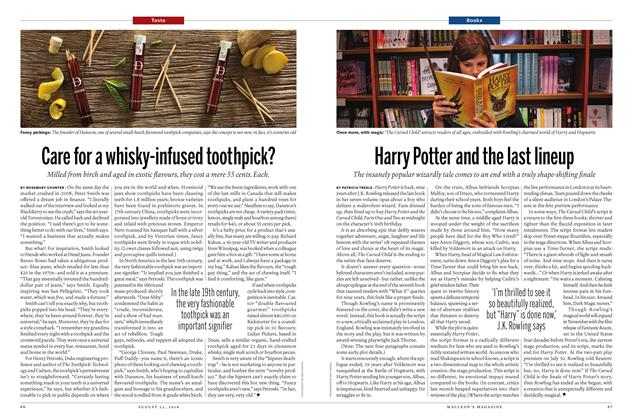 Article Preview: Harry Potter and the last lineup, August  22 2016 | Maclean's