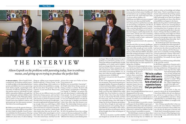 Article Preview: THE INTERVIEW, August  22 2016 | Maclean's