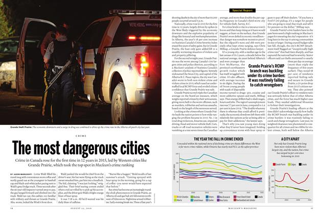 Article Preview: The most dangerous cities, August  22 2016 | Maclean's