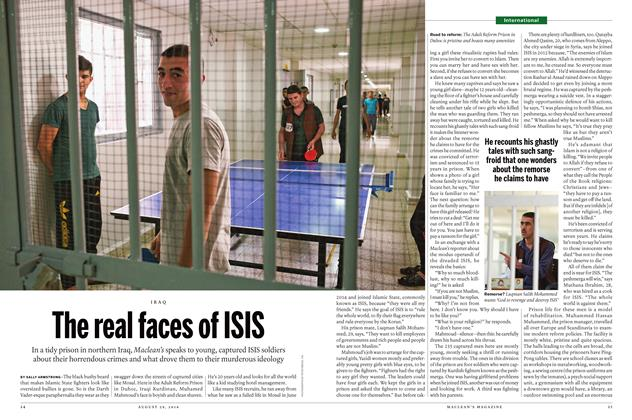 Article Preview: The real faces of ISIS, August 29, 2016 2016 | Maclean's