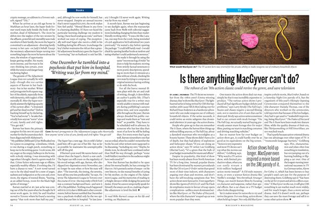 Article Preview: Is there anything MacGyver can't do?, August 29 2016 | Maclean's