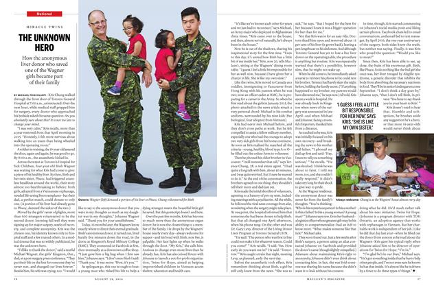Article Preview: THE UNKNOWN HERO, August 29 2016 | Maclean's