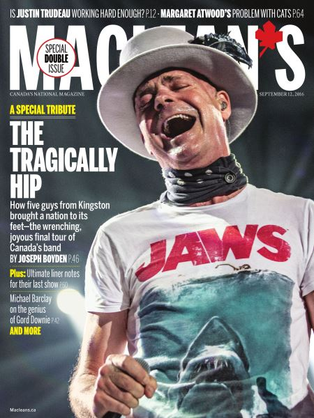 Issue: - SEPTEMBER 12, 2016 | Maclean's