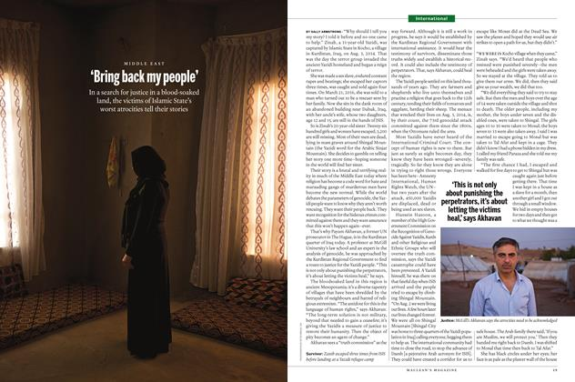 Article Preview: 'Bring back my people', SEPTEMBER 12 2016 | Maclean's