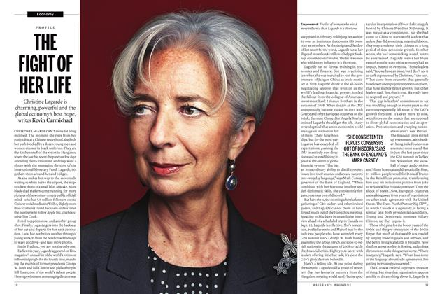 Article Preview: THE FIGHT OF HER LIFE, September 19 2016 | Maclean's