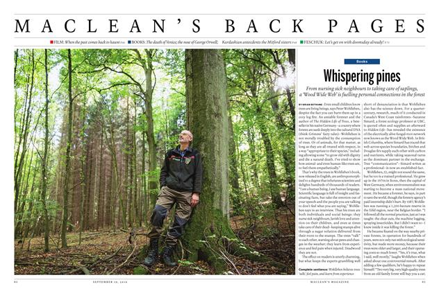 Article Preview: Whispering pines, September 19, 2016 2016 | Maclean's