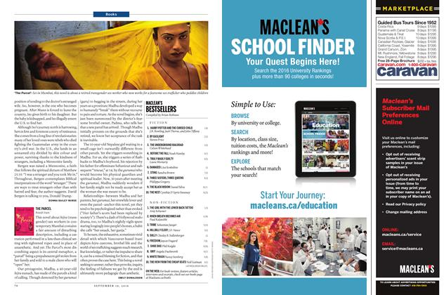 Article Preview: MACLEAN'S BESTSELLERS, September 19 2016 | Maclean's