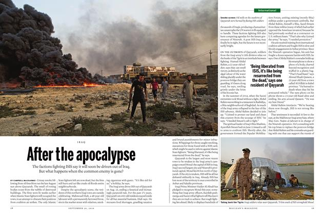 Article Preview: After the apocalypse, September 26th 2016 | Maclean's
