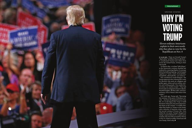 Article Preview: WHY I'M VOTING TRUMP, September 26th, 2016 2016 | Maclean's