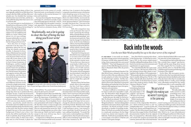 Article Preview: Back into the woods, September 26th 2016 | Maclean's