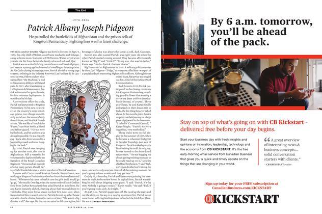 Article Preview: 1970-2016 Patrick Albany Joseph Pidgeon, September 26th 2016 | Maclean's