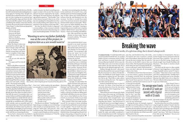 Article Preview: Breaking the wave, October 3 2016 | Maclean's