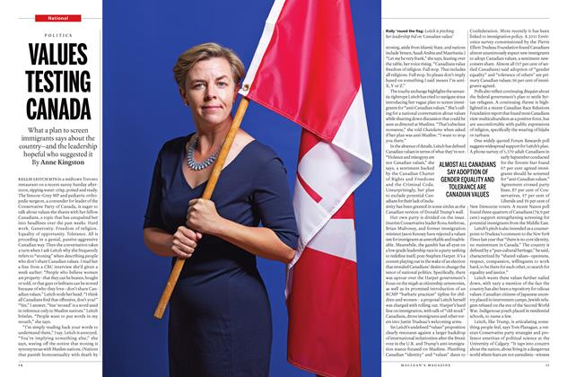 Article Preview: VALUES TESTING CANADA, October 3 2016 | Maclean's