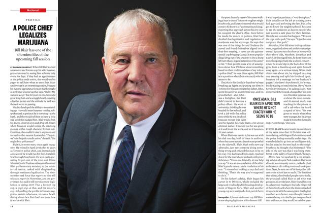 Article Preview: A POLICE CHIEF LEGALIZES MARIJUANA, October 10 2016 | Maclean's