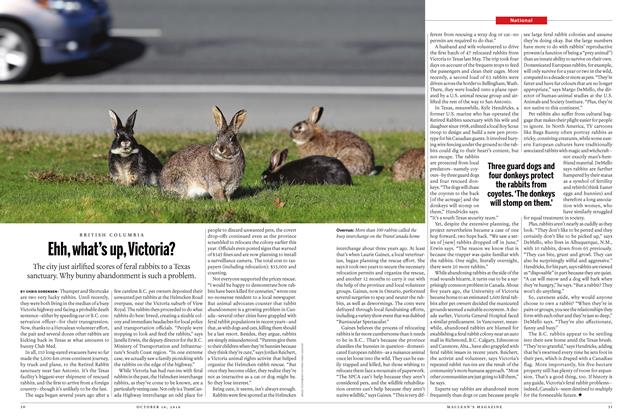 Article Preview: Ehh, what's up, Victoria?, October 10, 2016 2016 | Maclean's