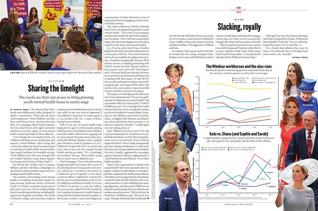 Article Preview: Slacking, royally, October 10 2016 | Maclean's