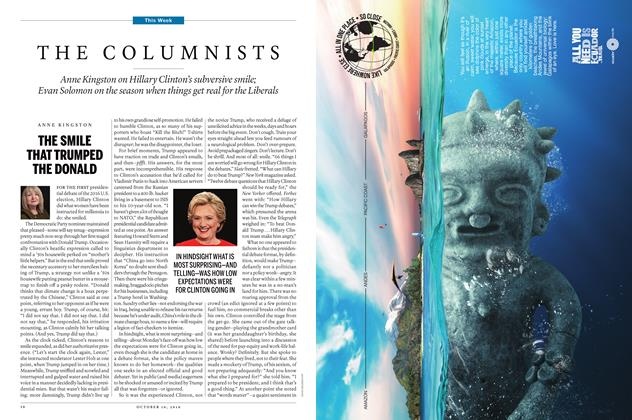 Article Preview: THE COLUMNISTS, October 10 2016 | Maclean's