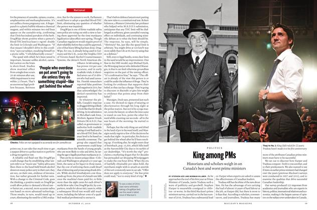 Article Preview: King among PMs, October 17 2016 | Maclean's