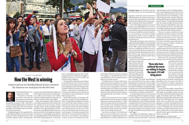 Article Preview: How the West is winning, October 17 2016 | Maclean's