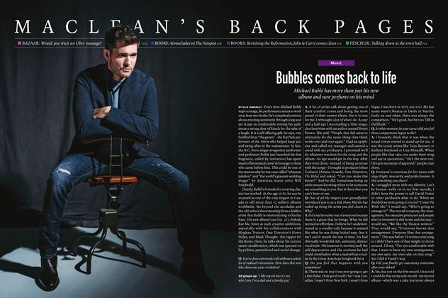 Article Preview: Bubbles comes back to life, October 17 2016 | Maclean's