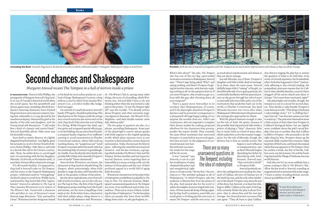 Article Preview: Second chances and Shakespeare, October 17 2016 | Maclean's
