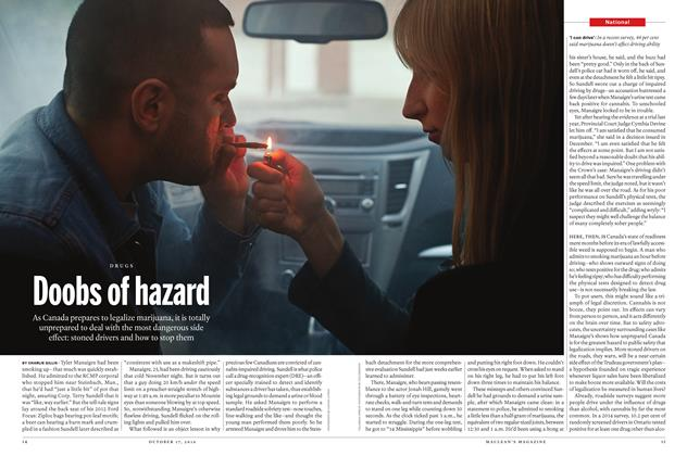 Article Preview: Doobs of hazard, October 17 2016 | Maclean's