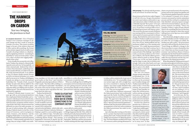 Article Preview: THE HAMMER DROPS ON CARBON, October 24 2016 | Maclean's