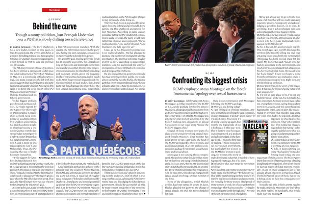 Article Preview: Confronting its biggest crisis, October 24 2016 | Maclean's