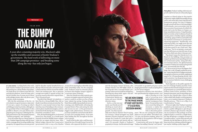 Article Preview: THE BUMPY ROAD AHEAD, October 24 2016 | Maclean's