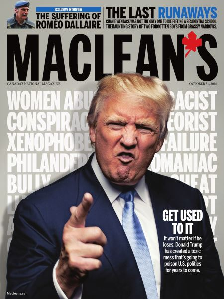 Issue: - OCTOBER 31, 2016 | Maclean's