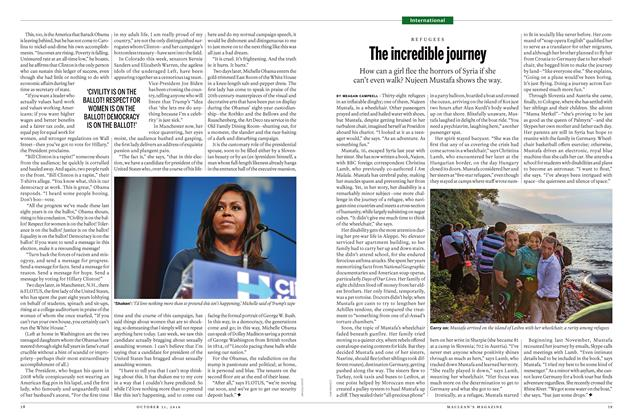 Article Preview: The incredible journey, OCTOBER 31 2016 | Maclean's
