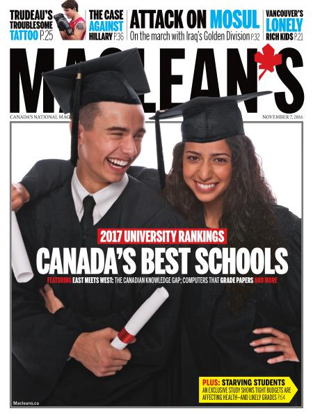 Issue: - NOVEMBER 7, 2016 | Maclean's