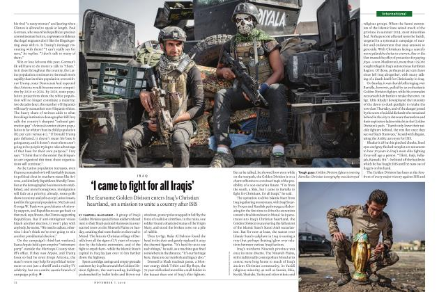 Article Preview: 'I came to fight for all Iraqis', NOVEMBER 7 2016 | Maclean's