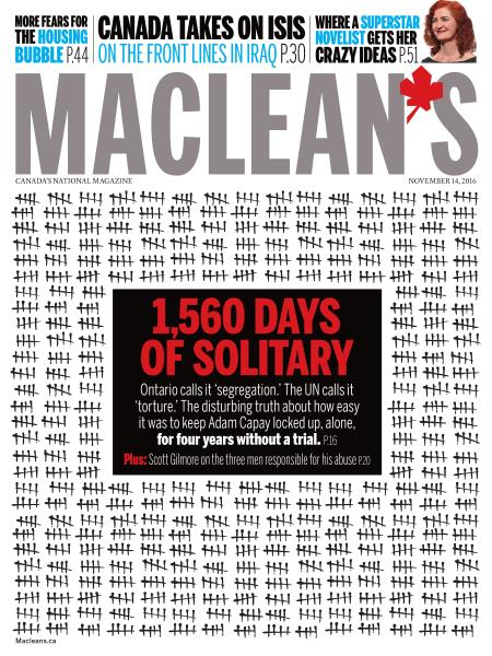 Issue: - NOVEMBER 14, 2016 | Maclean's