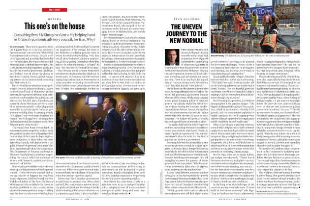 Article Preview: This one's on the house, NOVEMBER 14 2016   Maclean's
