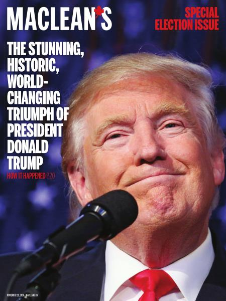 Issue: - NOVEMBER 21, 2016 | Maclean's