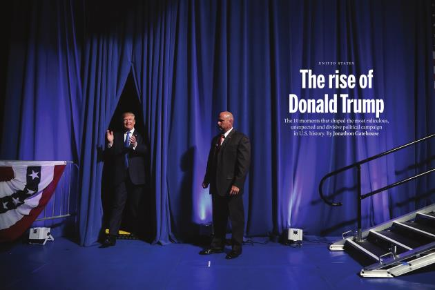 Article Preview: The rise of Donald Trump, NOVEMBER 21 2016 | Maclean's