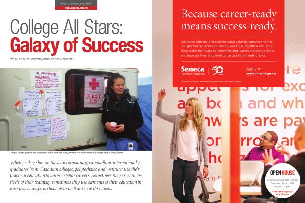 Article Preview: College All Stars: Galaxy of Success, NOVEMBER 21 2016 | Maclean's
