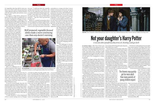 Article Preview: Not your daughter's Harry Potter, NOVEMBER 21 2016 | Maclean's