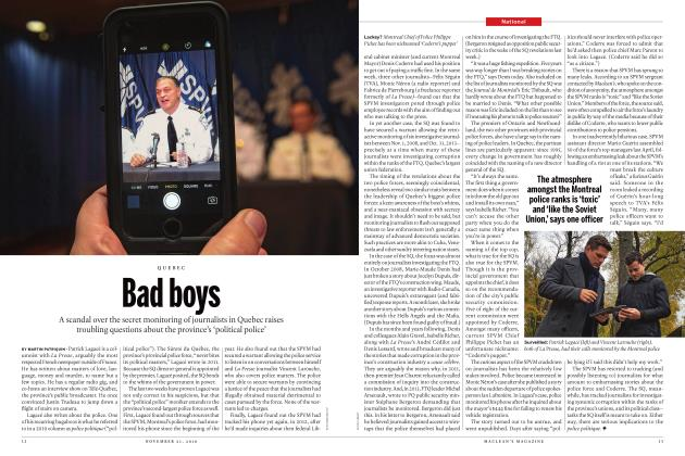 Article Preview: Bad boys, NOVEMBER 21, 2016 2016 | Maclean's