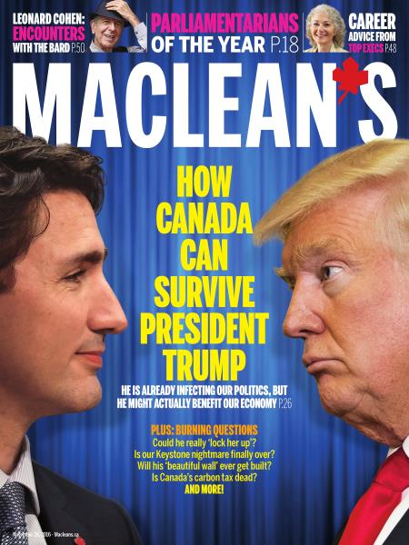 Issue: - November 28, 2016 | Maclean's