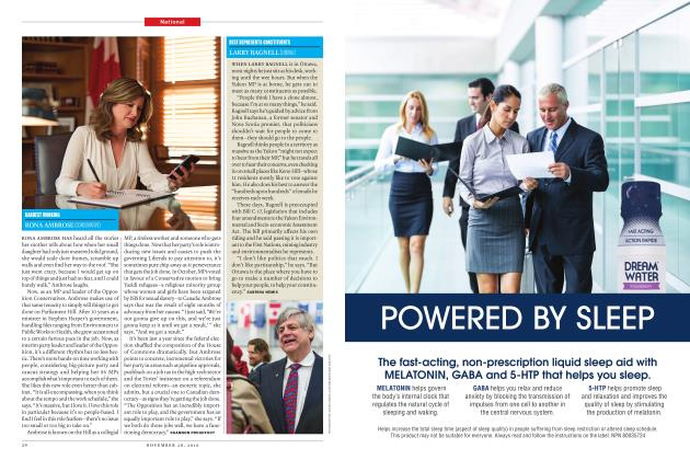 Article Preview: HARDEST WORKING RONA AMBROSE (CONSERVATIVE), November 28 2016 | Maclean's