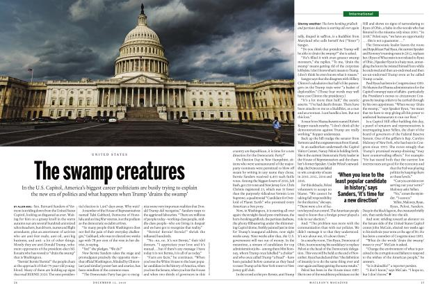 Article Preview: The swamp creatures, DECEMBER 12 2016 | Maclean's